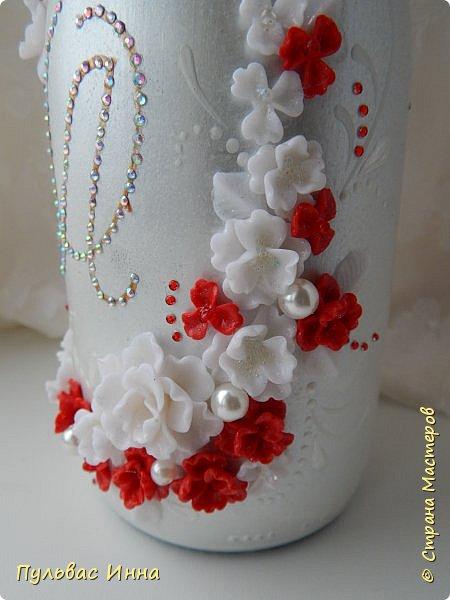 Очередной наборчик))))очень скромненький, выполнен в красно-белом цвете... фото 9