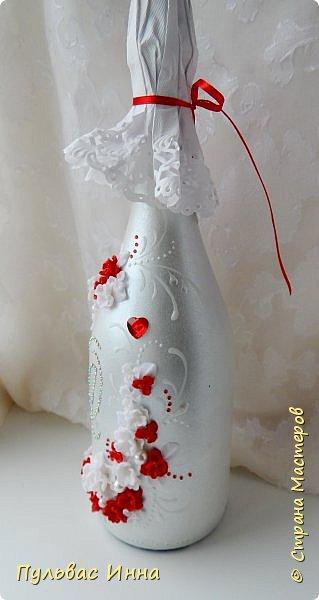 Очередной наборчик))))очень скромненький, выполнен в красно-белом цвете... фото 10