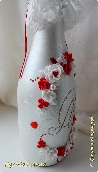 Очередной наборчик))))очень скромненький, выполнен в красно-белом цвете... фото 11