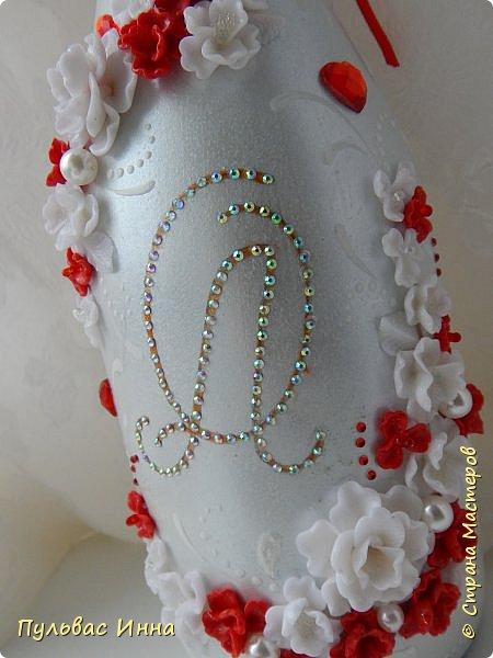 Очередной наборчик))))очень скромненький, выполнен в красно-белом цвете... фото 12