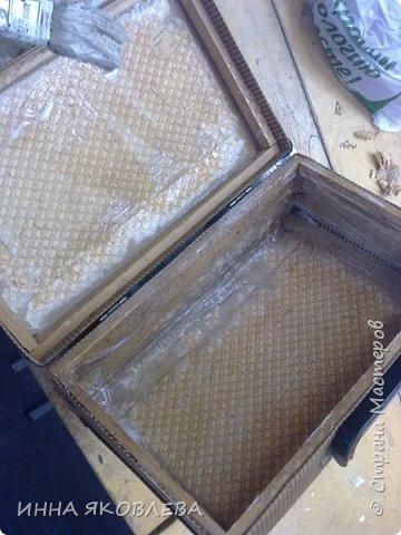 Ну вот и еще один чемодан стал жертвой моего творчества! фото 8