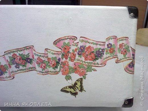 Ну вот и еще один чемодан стал жертвой моего творчества! фото 7