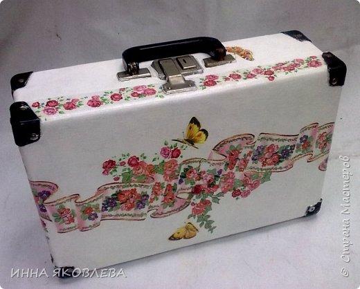 Ну вот и еще один чемодан стал жертвой моего творчества! фото 1