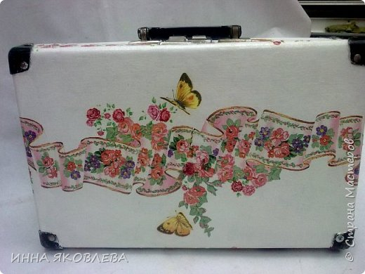 Ну вот и еще один чемодан стал жертвой моего творчества! фото 2
