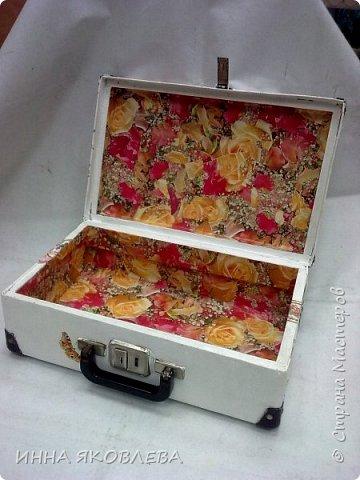 Ну вот и еще один чемодан стал жертвой моего творчества! фото 10