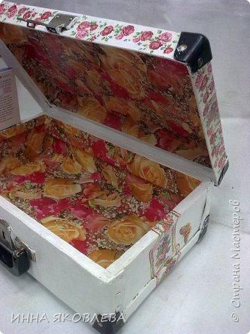 Ну вот и еще один чемодан стал жертвой моего творчества! фото 12