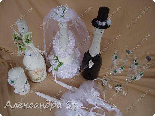 Добрый вечер страна мастеров ! Хочу поделиться с вами новым свадебным наборчиком. фото 2