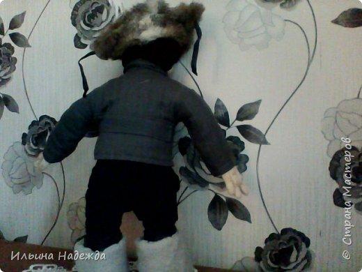 Мужик в фуфайке и валенках фото 4