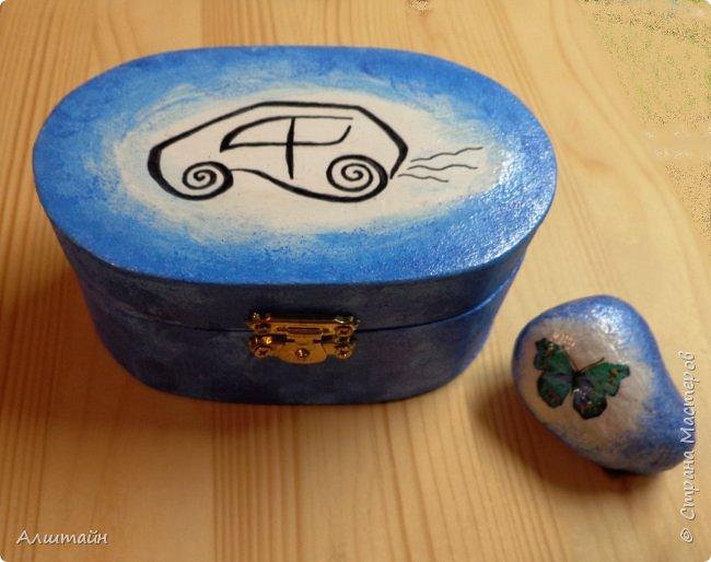 Шкатулка и камень фото 1