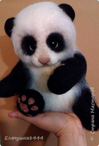 Вот такая панда у меня получилась))) фото 2