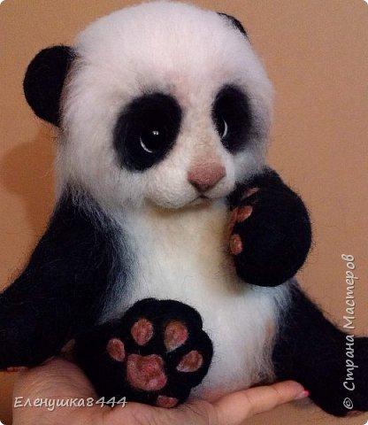 Вот такая панда у меня получилась))) фото 1