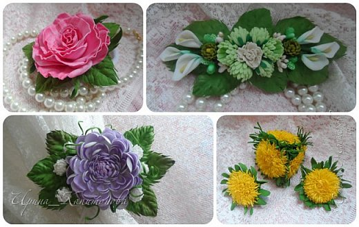 Доброго времени суток всем жителям и гостям Страны Мастеров!!! Сегодня я с всякими разными цветочками...начиная с одуванчиков заканчивая королевой сада -розой..... фото 1