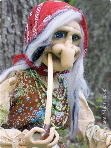 baba Yaga Моя бабушка курит трубку. фото 3