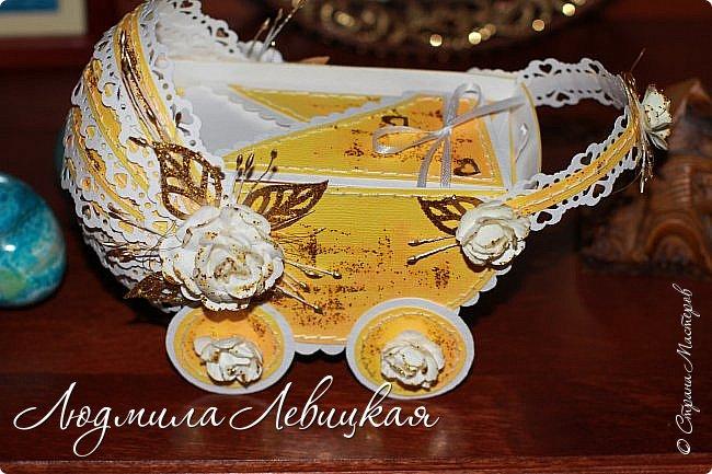 """""""Золотая колясочка""""-еще один денежный конверт фото 1"""