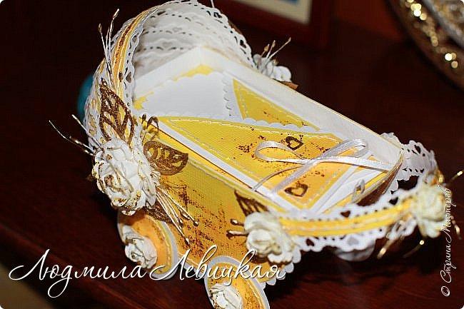"""""""Золотая колясочка""""-еще один денежный конверт фото 3"""