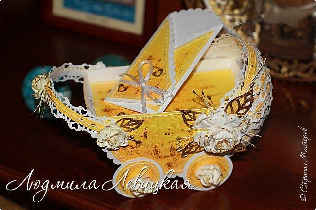 """""""Золотая колясочка""""-еще один денежный конверт фото 4"""
