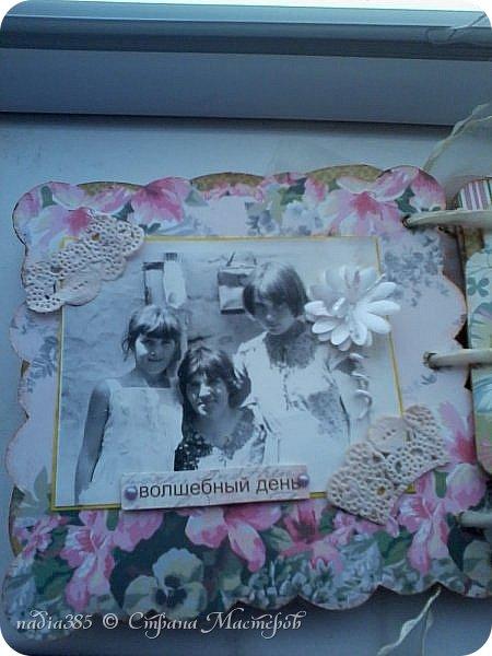 Здравствуй дорогая  моя Страна Мастеров! Хочу показать тебе мой первый альбомчик сделанный для моей сестры на день рождение.   фото 4