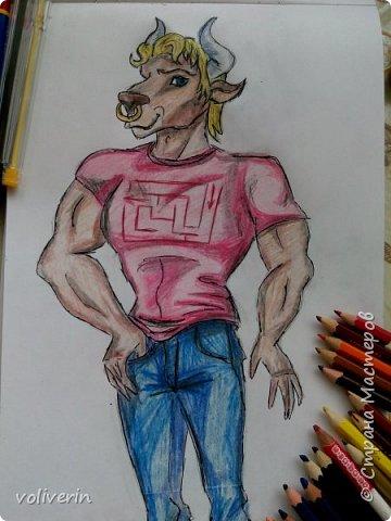 """""""Куколы Монстер Хай (Monster High) нарисованных ручками и цветными карандашами часть два"""" Продолжаю рисовать монстряшек, получаться стало лучше, чем в начале, но ещё есть к чему стремиться. фото 10"""