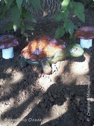 И снова садовая поделка фото 2