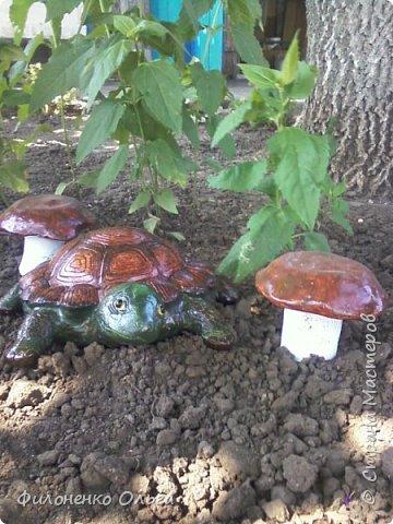 И снова садовая поделка фото 3