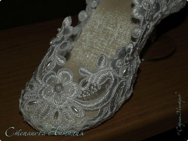 Добрый день, вчера выставляла на ваш суд мою первую туфлю-бокал, с процессом изготовления http://stranamasterov.ru/node/1036201. Моя неугомонная душа захотела сделать вторую да побыстрее, с учетом всех косяков! Итак, встречайте, подарок для моей сестры. фото 6