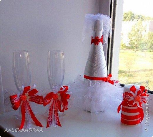 Первый мой наборчик на свадьбу. Очень старалась,надеюсь жениху с невестой понравится. фото 3