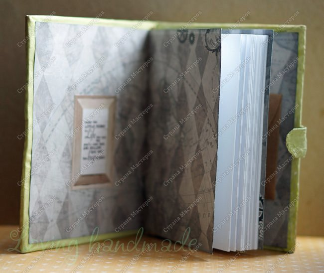 Всем доброго времени суток! Хочу показать вам блокнот, который я сделала в качестве подарка своему брату.  фото 5