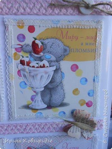 """Попался мне календарь """"Милый Мишка"""". Действительно. очень милый и с подписями смешными. И наконец-то, начался сезон ремонтов, и в мои руки попали прекрасные кусочки нового белого пластика- отходы. А дальше - дело фантазии. Вот. что получилось. фото 10"""