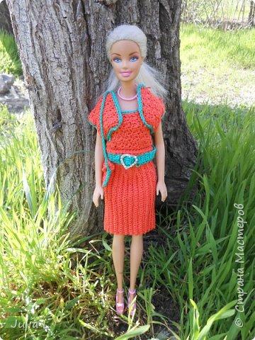 Вот такое платье связалось для Дракулауры фото 9