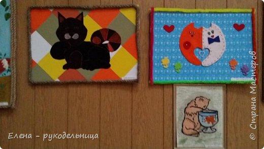 """Выставка работ моих учеников """" Мартовские коты """" фото 13"""