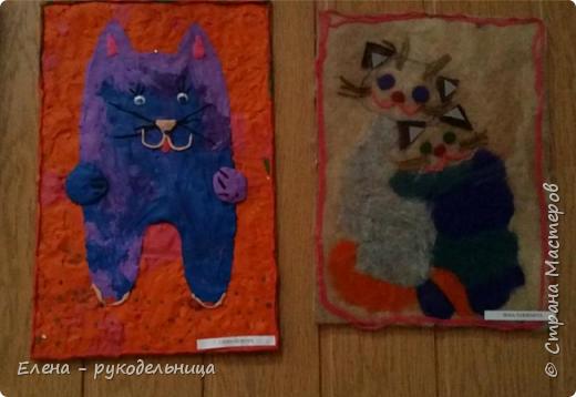 """Выставка работ моих учеников """" Мартовские коты """" фото 11"""