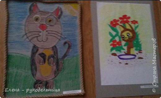 """Выставка работ моих учеников """" Мартовские коты """" фото 12"""