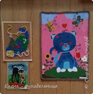 """Выставка работ моих учеников """" Мартовские коты """" фото 9"""