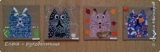 """Выставка работ моих учеников """" Мартовские коты """" фото 6"""