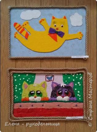 """Выставка работ моих учеников """" Мартовские коты """" фото 4"""