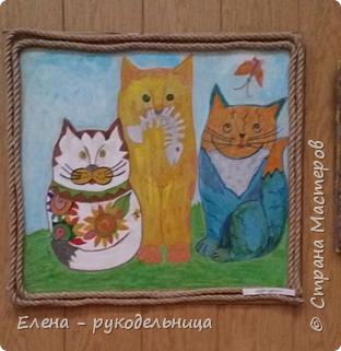 """Выставка работ моих учеников """" Мартовские коты """" фото 8"""