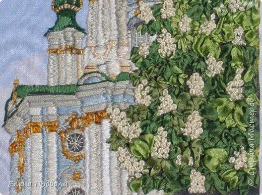 Андреевский собор в каштанах. В рамочке (дуб) со стеклом. Размер 170*240 мм фото 4