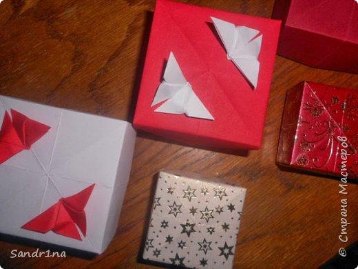Коробочки оригами фото 20