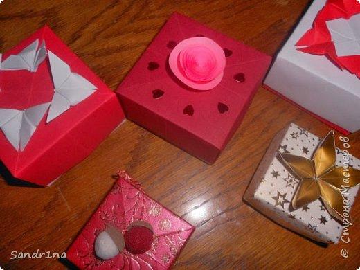 Коробочки оригами фото 23
