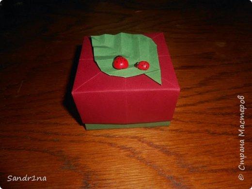 Коробочки оригами фото 17