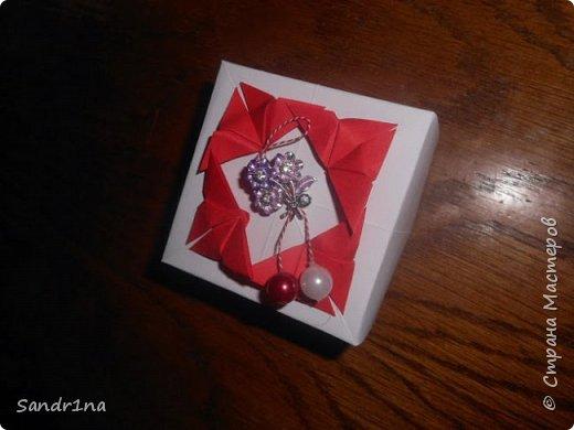 Коробочки оригами фото 15