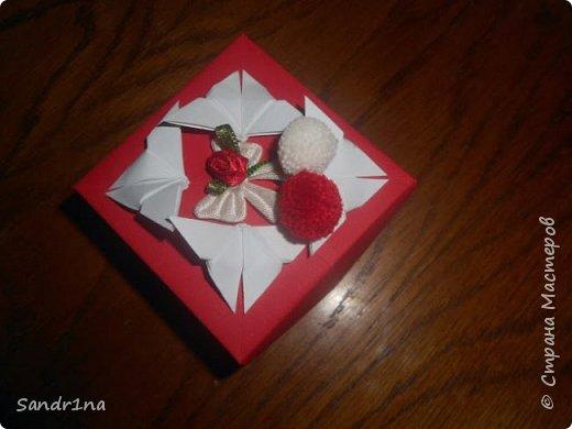 Коробочки оригами фото 13