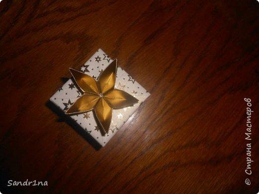 Коробочки оригами фото 12