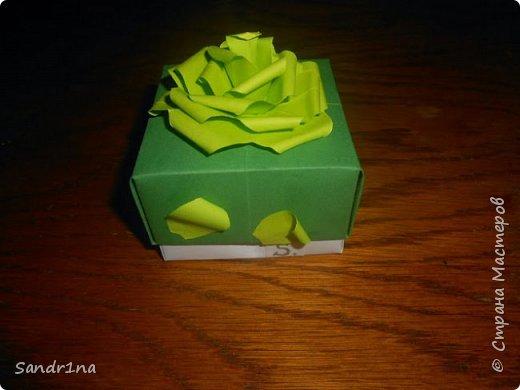 Коробочки оригами фото 9