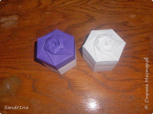Коробочки оригами фото 24