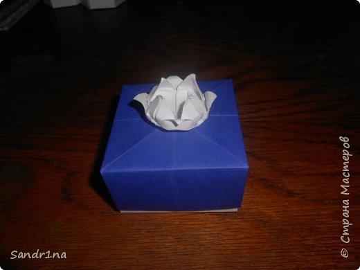 Коробочки оригами фото 8