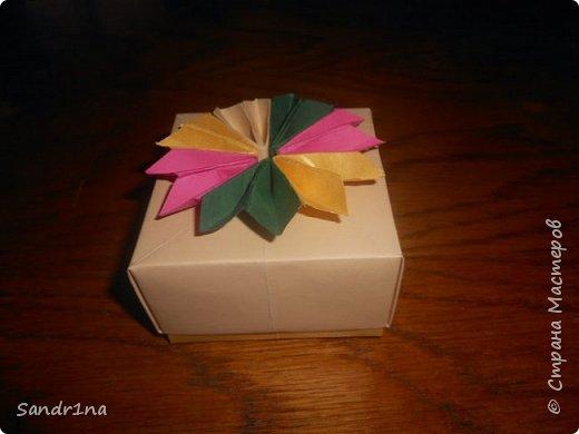 Коробочки оригами фото 7