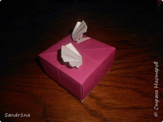 Коробочки оригами фото 4