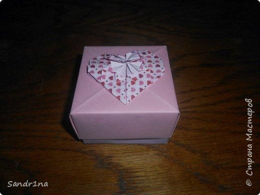 Коробочки оригами фото 2