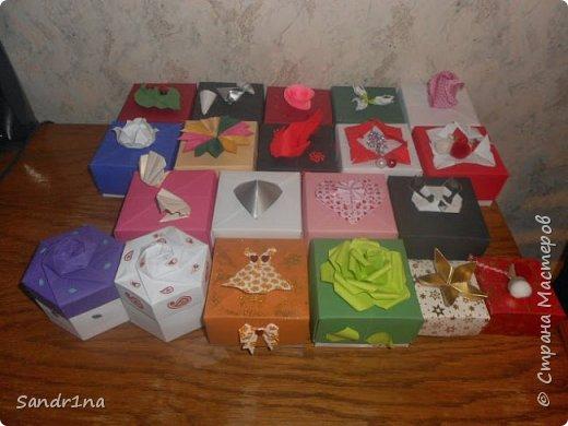 Коробочки оригами фото 1